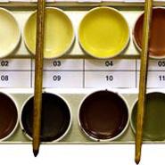 Набор ретушируюших красок 150, 12 цветов